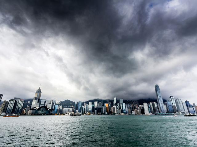 Storm brewing over the Hang Seng index
