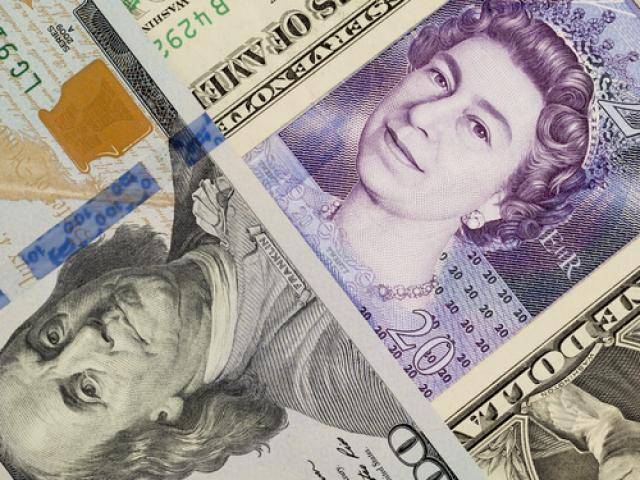 Dollar in high demand while Pound tanks