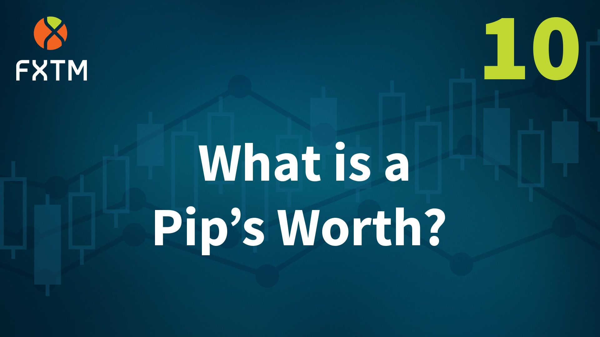 What is a pip worth in forex trading