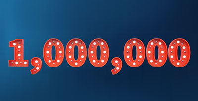 عدد الحسابات المسجلة في FXTM تتجاوز 1000.000 حساب