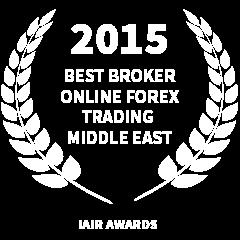 2015 Best broker online forex trading middle east award