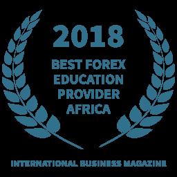 2018 Mejor proveedor de formación en Forex para África