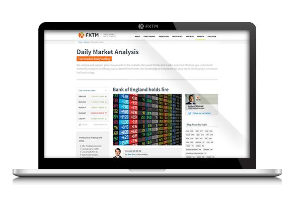 Navštivte náš blog obsahující zdarma dostupné tržní analýzy