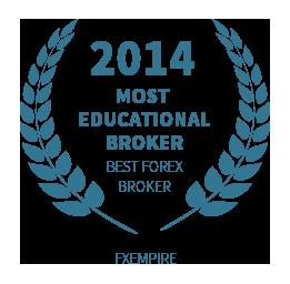 2014 Most Educational broker award