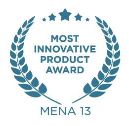 2013 Most Innovative Product MENA 13 award