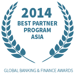 2014 Best Partner Program Asia award
