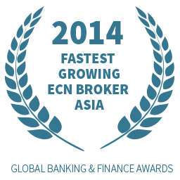2014 Fastest Growing ECN Broker Asia award