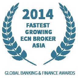 सबसे तेज प्रगतिशील ECN ब्रोकर एशिया
