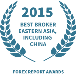 2015 Best broker eastern Asia including China award