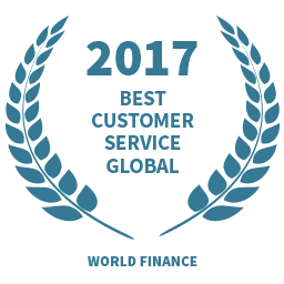 2017 Best Customer Service Global award