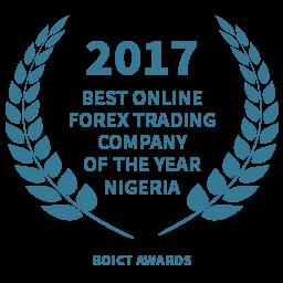 2017 Best Online Forex Trading Company Nigeria award