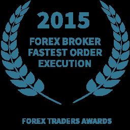 2015 Forex broker fastest order execution award
