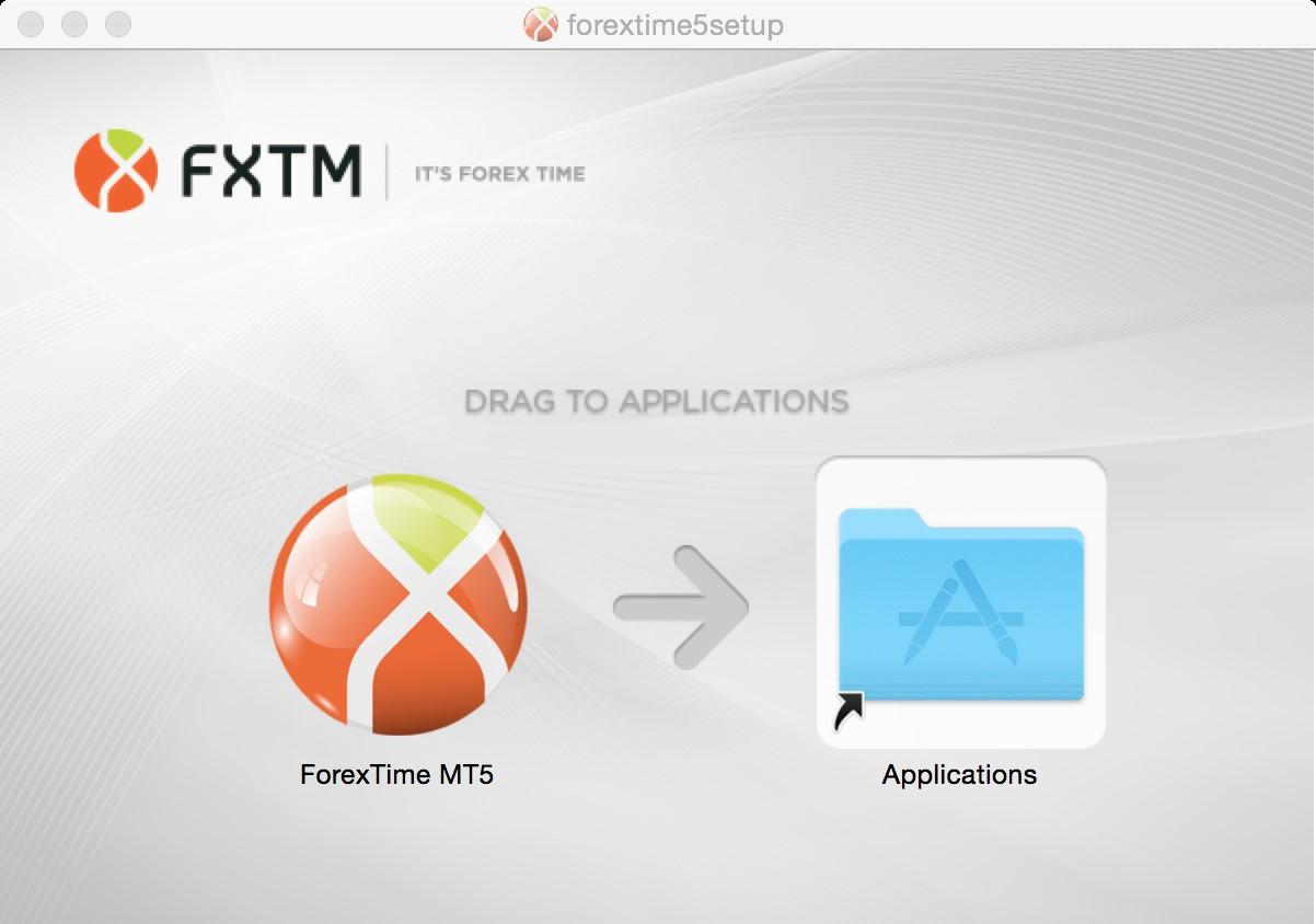 Unduh dan instal MT5 untuk Mac - Langkah 2