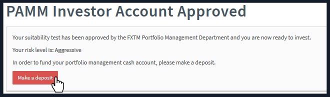 Instaforex pamm account