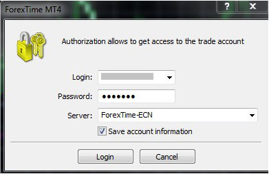 Forextime account types