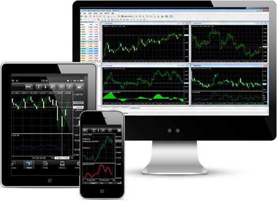 Forex کے تجارتی پلیٹ فارمز