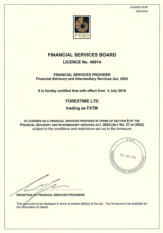 FSB License