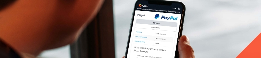 FXTM adds PayPal eWallet giant as payment method